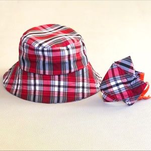Bucket Hat & Face Mask Matching Set